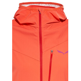 Salewa Pedroc Hybrid 2 DST/PTX - Veste Femme - orange/rouge